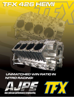 TFX flyer front